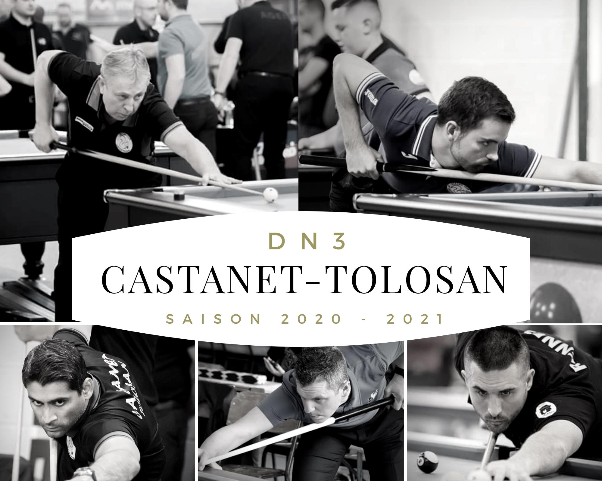 2020 – 2021 : BCCT Nouvelle saison – Billard Club CastaTolosan